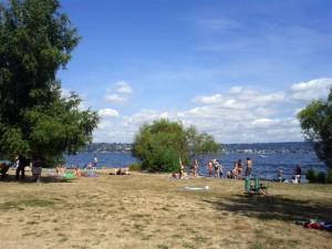 Magnuson Park Beach