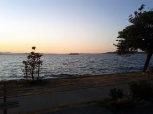 Sunset w/ Ferry