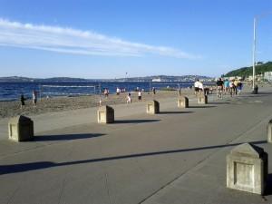 Volleyball on Alki Beach