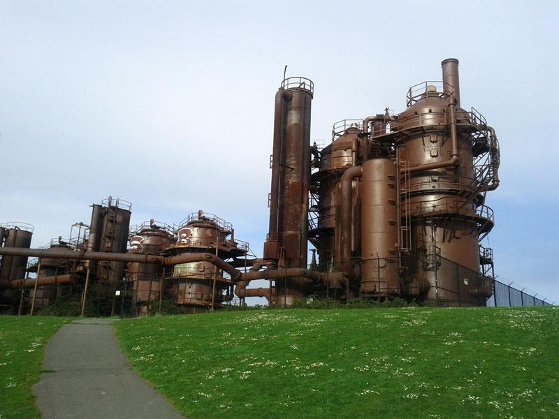 Gas Works Park Plant