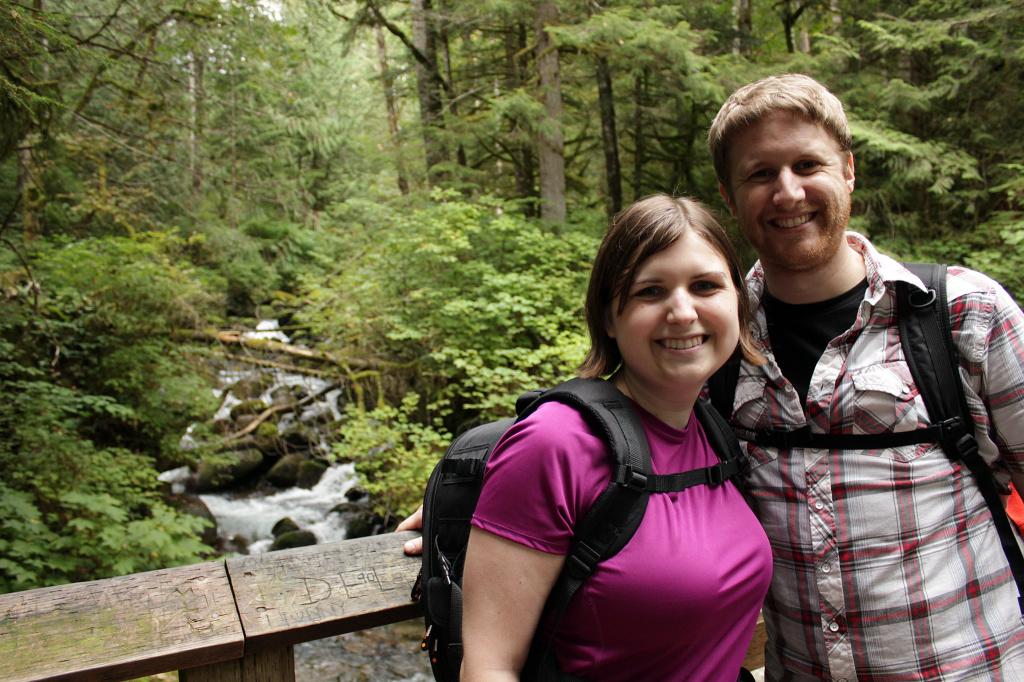 Nick & Marie at Wallace Falls