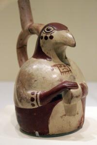 Peruvian ceramic vessel