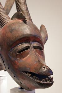 Burkinabe antelope mask