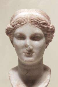 Egyptian marble head