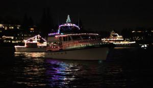 Christmas Ships - Night