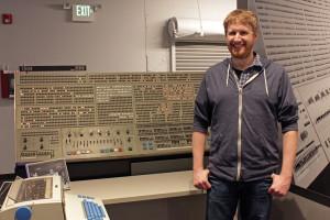Nick with IBM 360