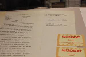 Microsoft partnership agreement