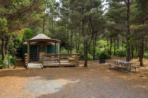 Newport yurt